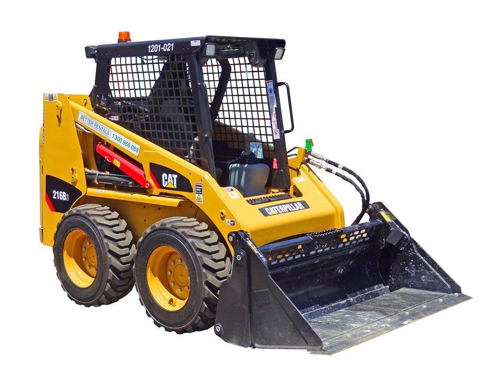 Cat Bobcat skidsteer hire