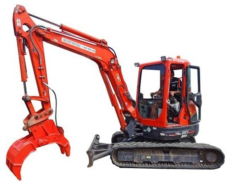Excavator & Rock Grab Hire - Better Rentals Melbourne