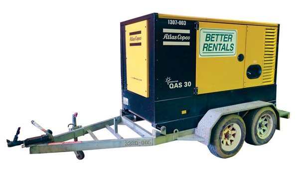 30 kva diesel generator hire