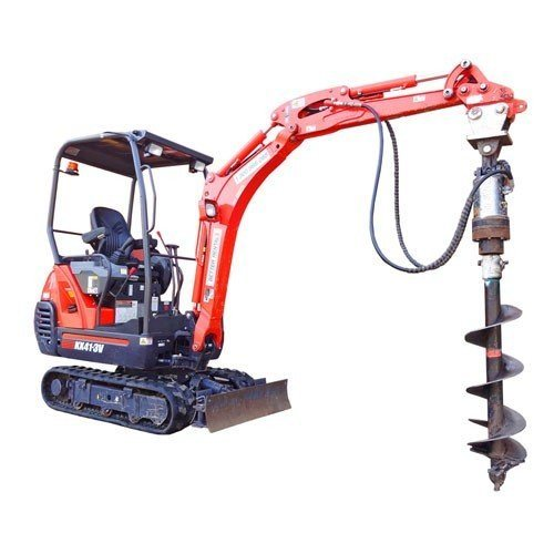 Excavator Hire 1.5t - Post Hole Digger