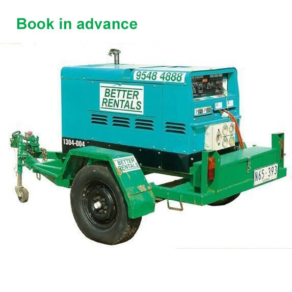 diesel welder hire