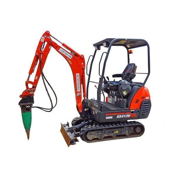Excavator Hire 1.5t and breaker