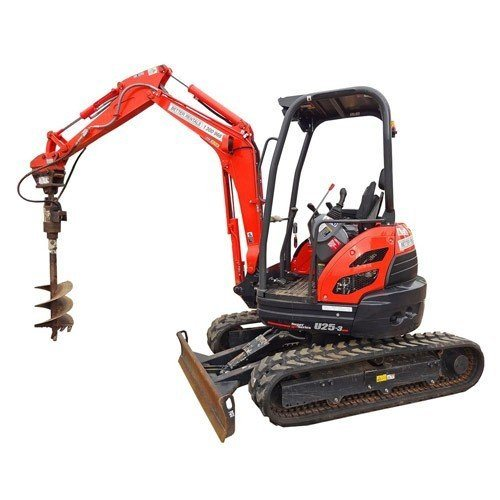 Excavator Hire - 3t & post hole digger