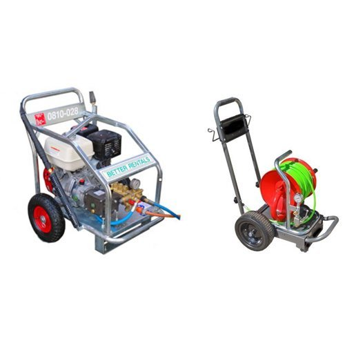 High pressure drain cleaner hire