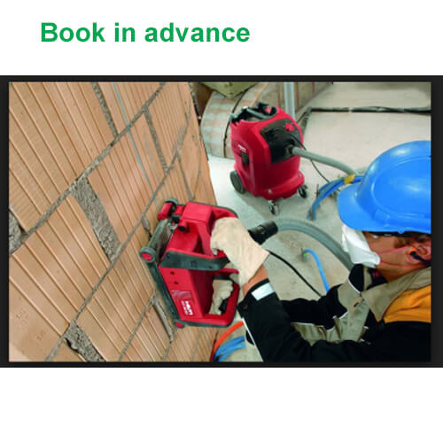 hilti wall chaser hire