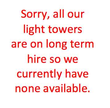 light-tower-hire
