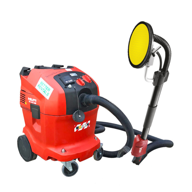 plaster sander hire and vacuum