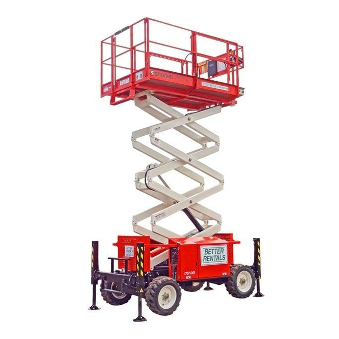 scissor lift hire - 8.3m