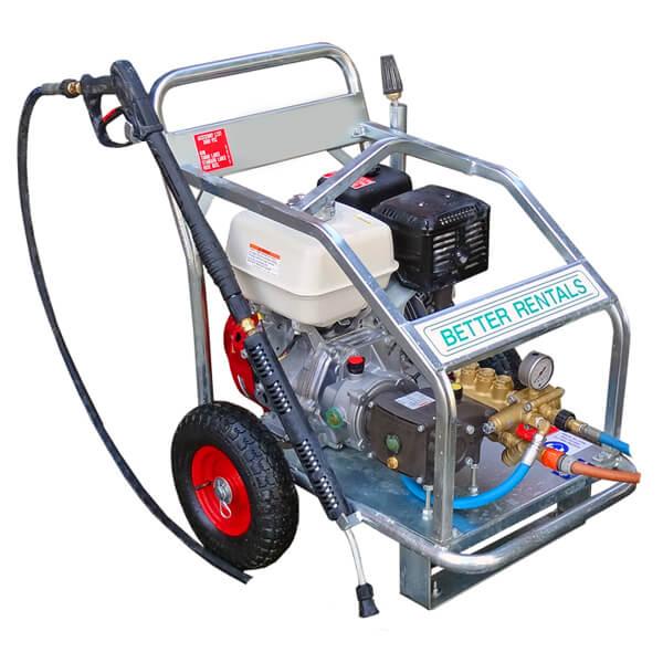 pressure cleaner hire 10m hose