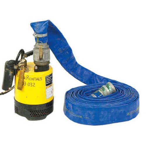 sub pump hire 50mm